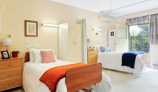 Pendle Hill Aged Care Companion Share Room